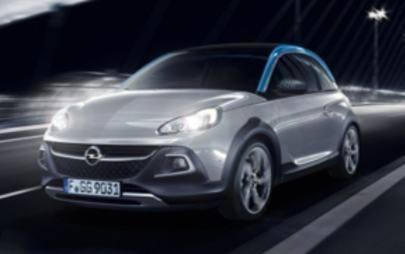 Adam Rocks, Opel